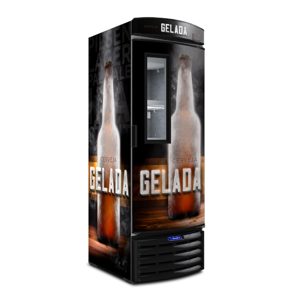 Cervejeira Vertical Porta com Visor 572 litros VN50FL – Metalfrio - freezermetal.com.br