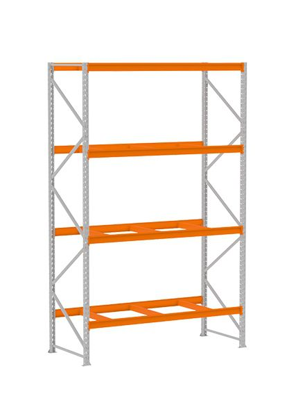 Mini Porta Pallet Modulo Inicial 3,00 x 1,80 x 80 C/ 4 Longarina  Amapá