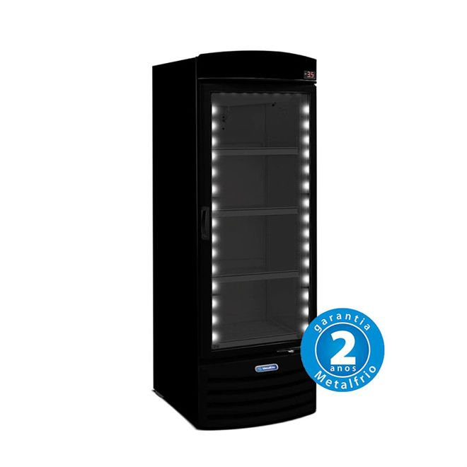 REFRIGERADOR PORTA DE VIDRO 572L ALL BLACK VB52RH – METALFRIO