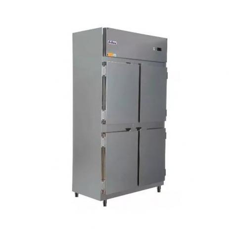 Geladeira Comercial 4 Portas Inox Interno e Externo + Rodizio Frilux
