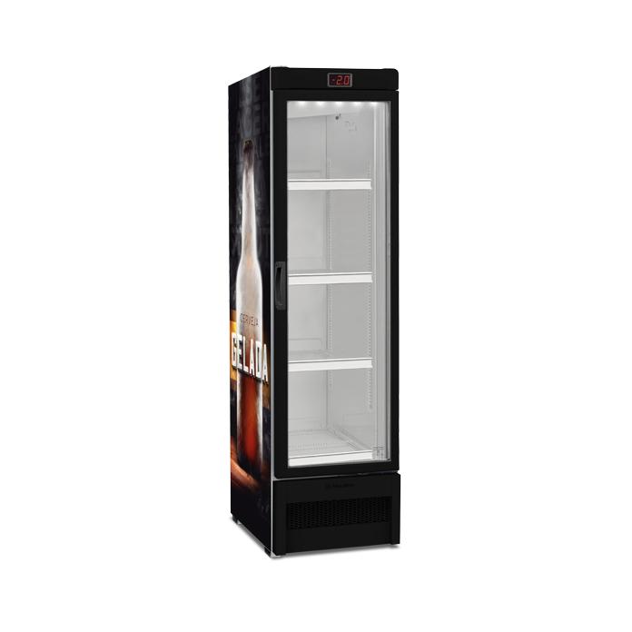 Cervejeira Expositor vertical porta de vidro 324 litros VN28RE – Metalfrio
