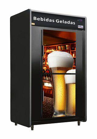 Cervejeira 2 Portas 1.300 Litros (Capacidade para 480 Garrafas) rf-53 Frilux