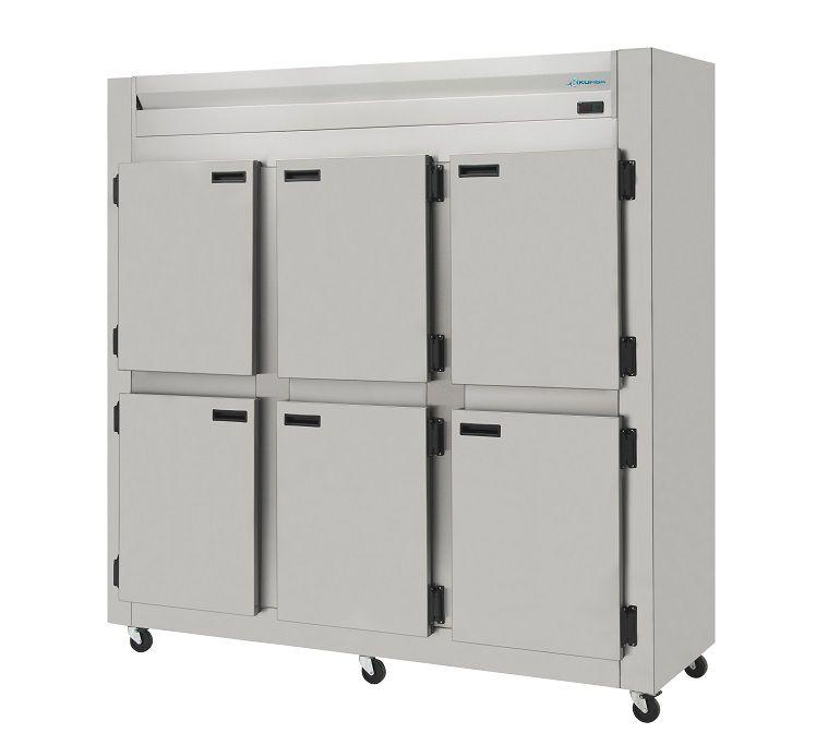 Geladeira Refrigerador Comercial 6 Portas Inox Escovado 1.200 Litros Kofisa