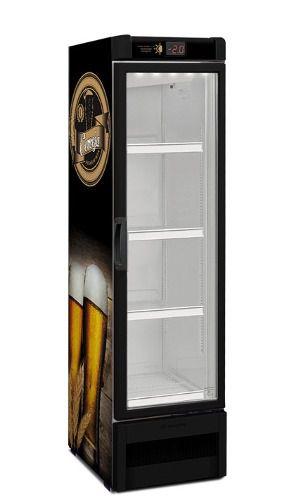 Cervejeira Expositor vertical porta de vidro 324 litros VN28RB – Metalfrio