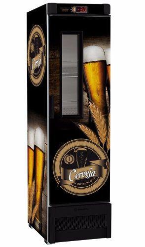 Cervejeira Com Visor na Porta 324 Litros VN 28F Metalfrio