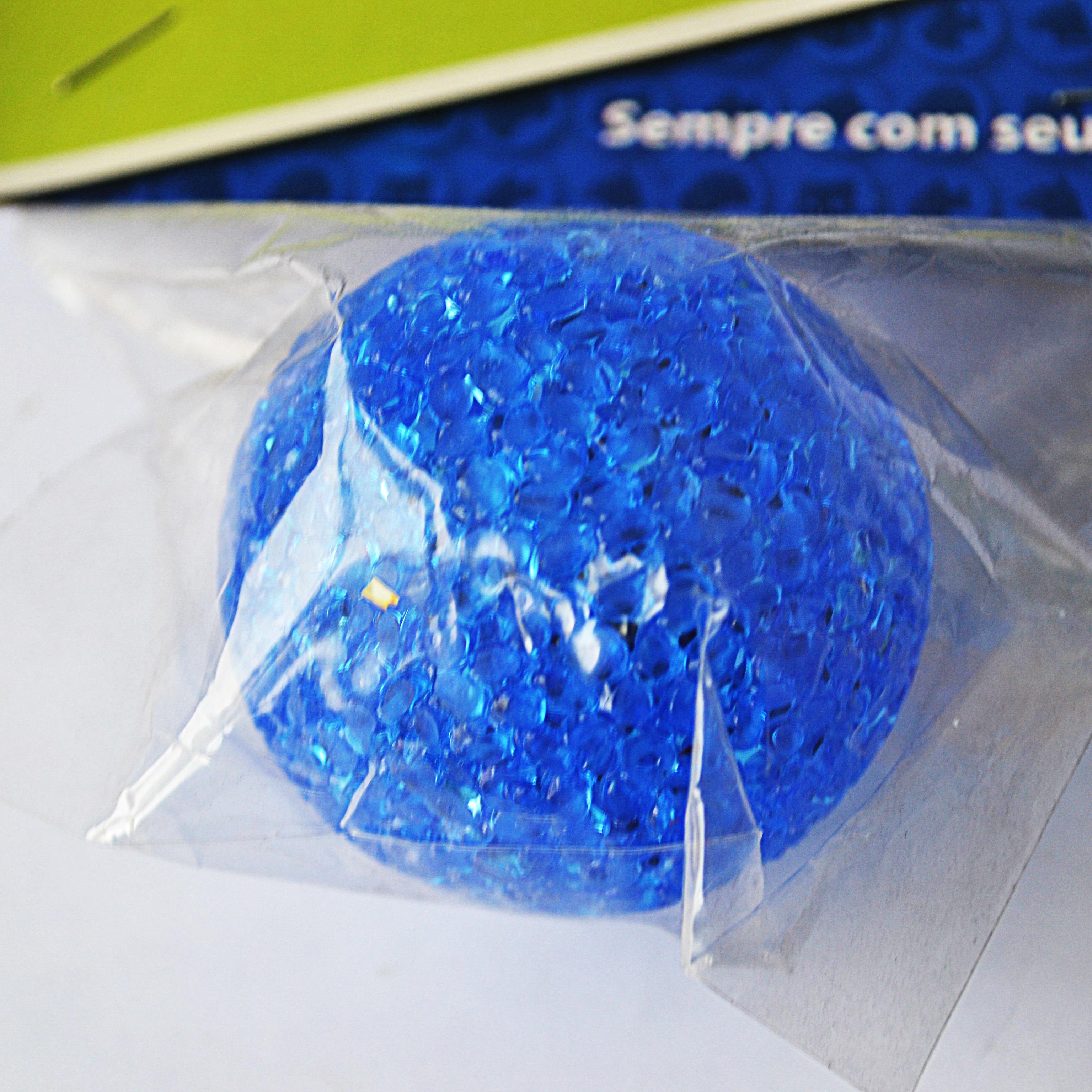 Brinquedo cães e gatos bola pequena blue