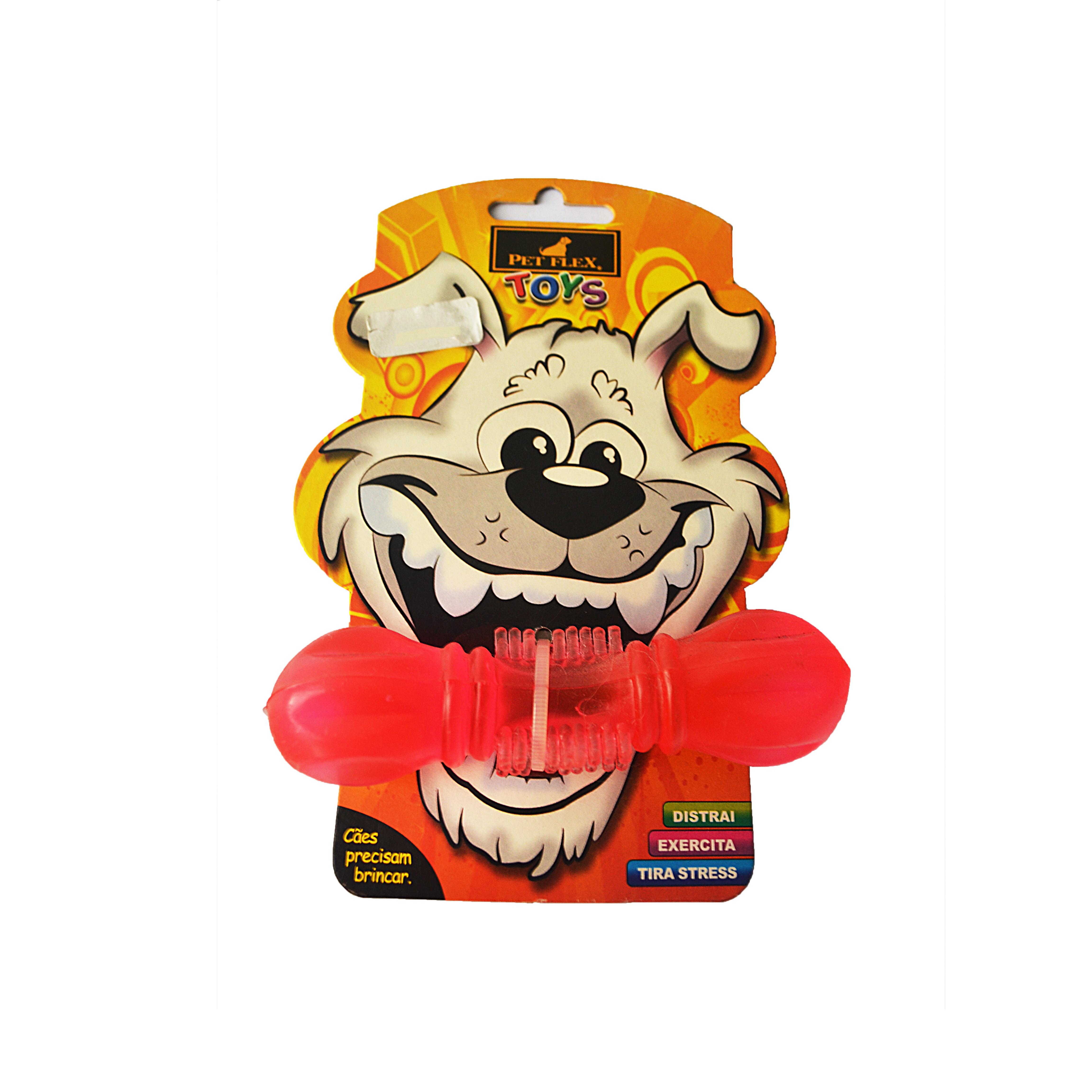 Mordedor brinquedo para cães red