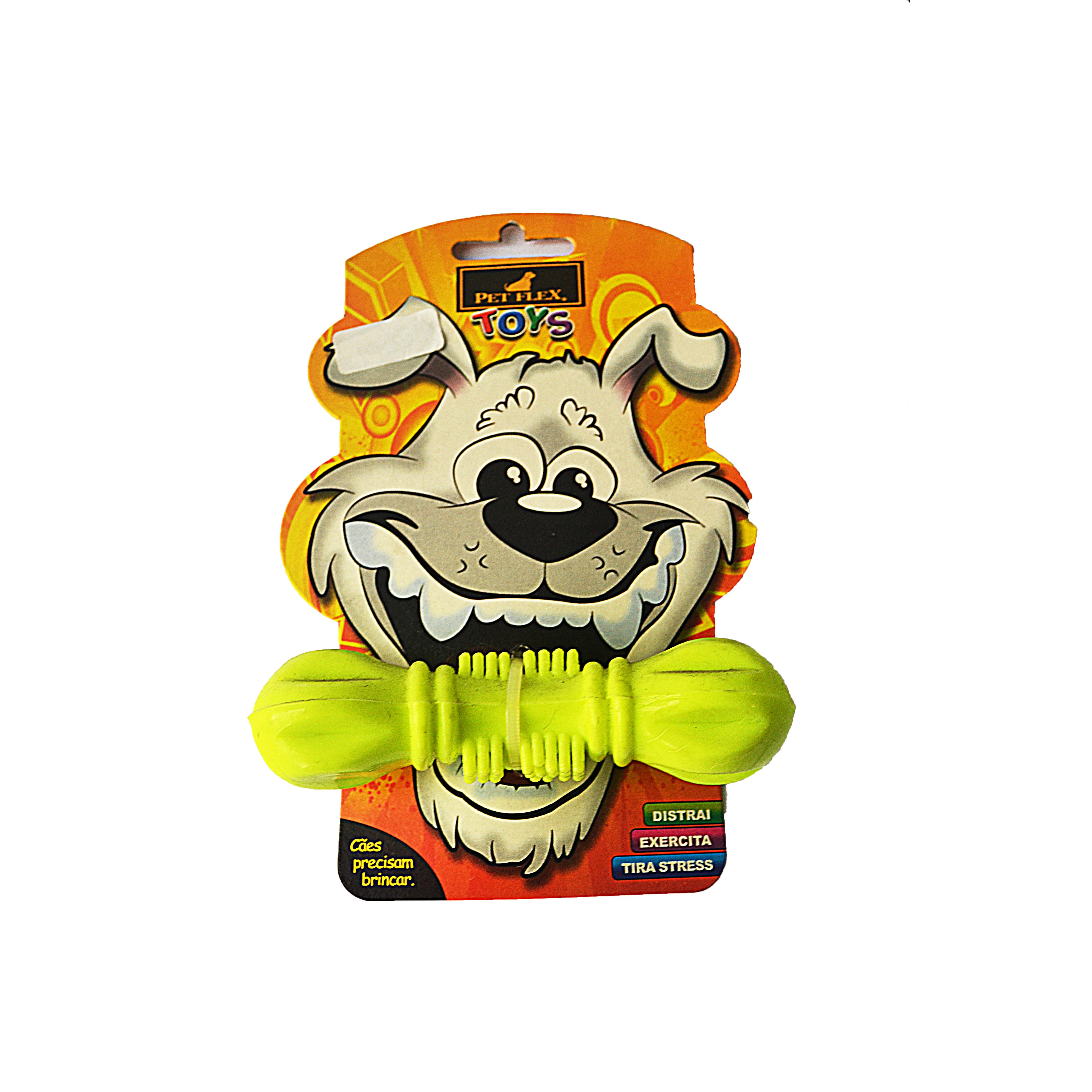 Mordedor brinquedo para cães green