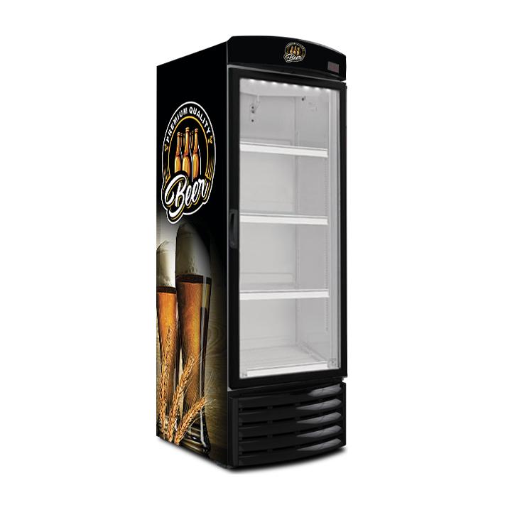 Cervejeira Metalfrio Recondicionada 430 Litros Expositora FR430CE