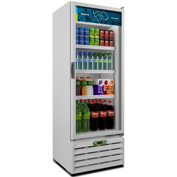 REFRIGERADOR EXPOSITOR METALFRIO 406 LITROS VB40RE