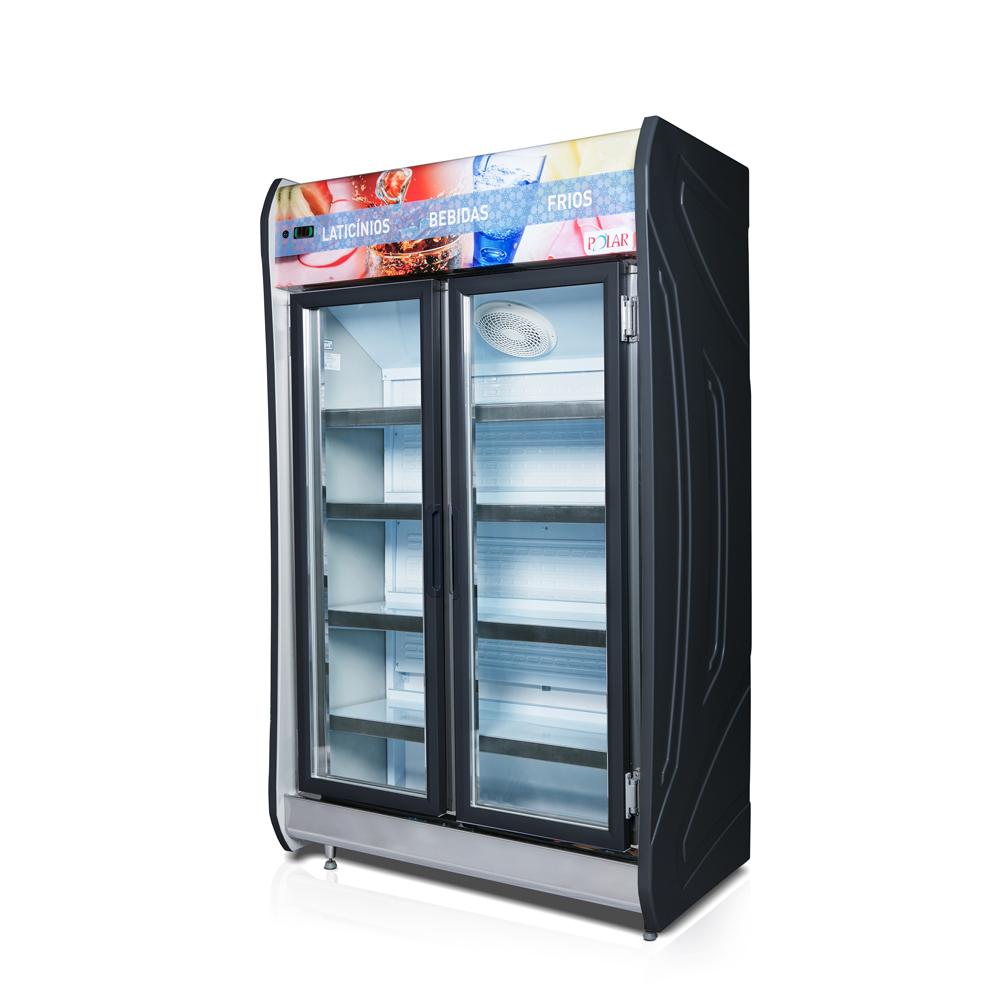 Expositor Vertical (Auto-serviço) 2 portas Polar 125cm MASP-125