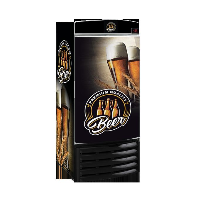 Cervejeira Metalfrio 300 litros reformada 110v