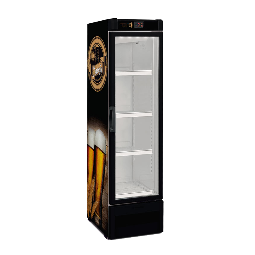 CERVEJEIRA EXPOSITORA SLIM METALFRIO 324 LITROS VN28RE 110v