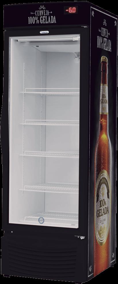 Cervejeira Fricon 431 Litros Brutos Expositora VCFC 431 V-220v