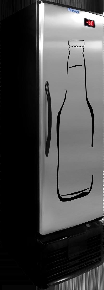 CERVEJEIRA FRICON INOX 284 LITROS VCFC284C 220v