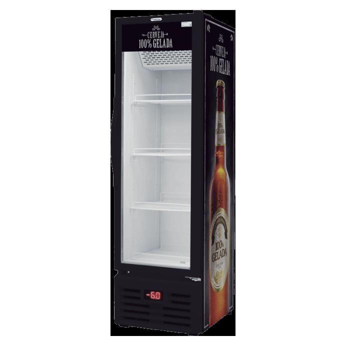 Cervejeira fricon 284 litros expositora VCFC 284 V 220v - freemalte.com