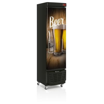 Cervejeira Porta Cega Slim Gelopar 230 litros GRBA-230E WD -110v