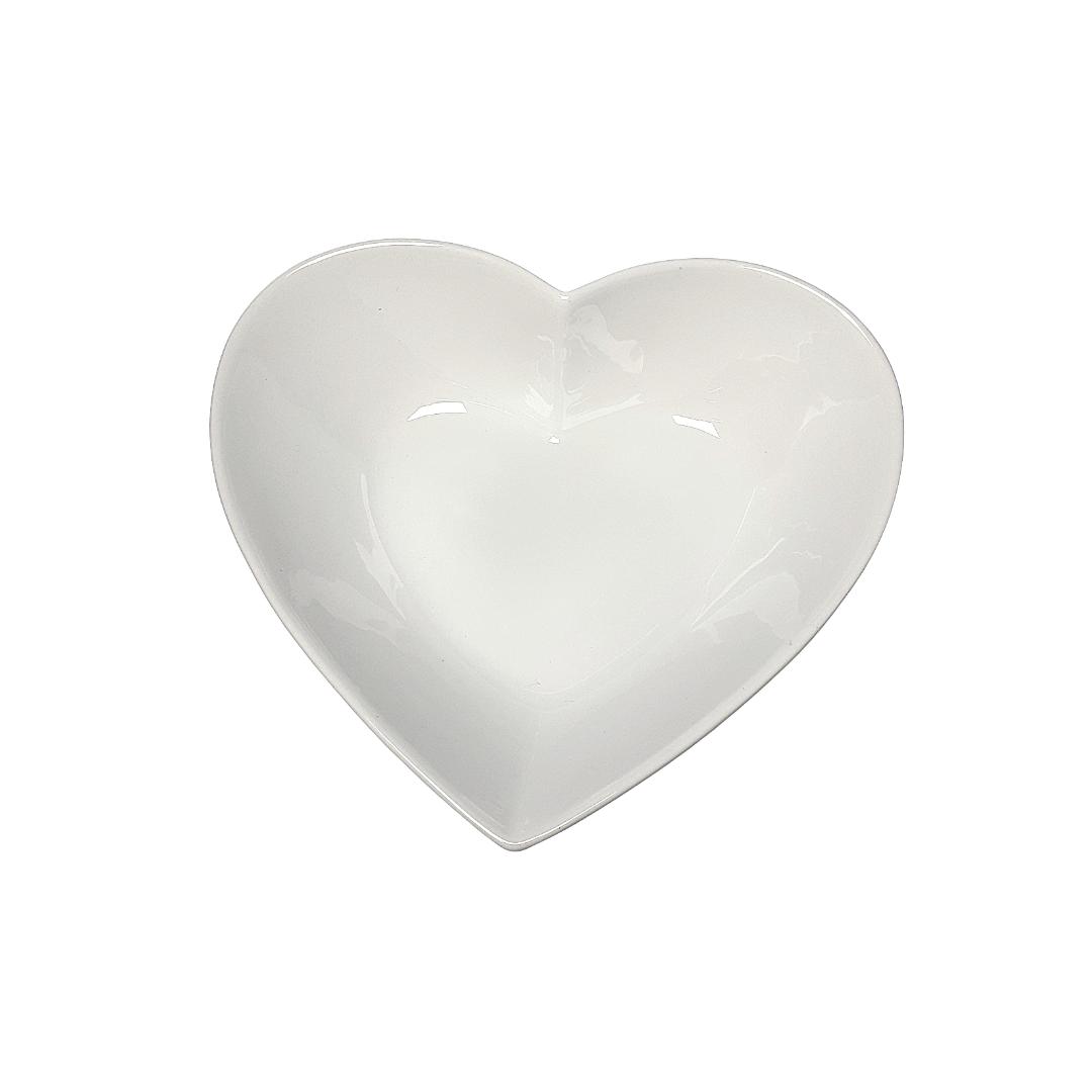 Saladeira porcelana coração - eshop.doccashop.com.br