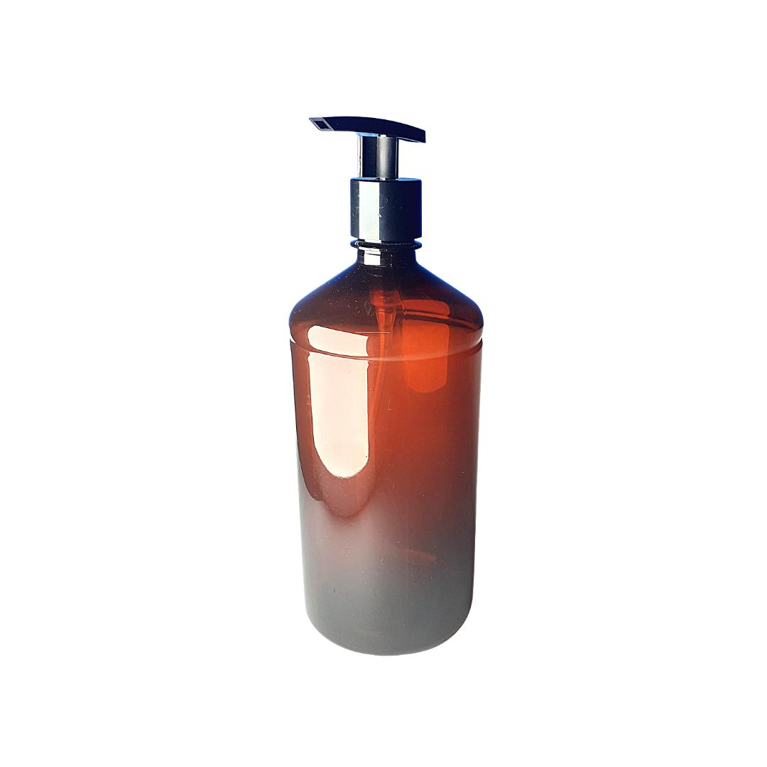 Porta shampoo e condicionador ambar de plastico - eshop.doccashop.com.br
