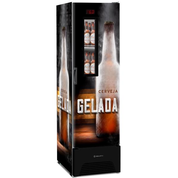 Optima – Cervejeira com Visor Expositor Slim – 287 Litros - geladeirasecervejeiras.com.br