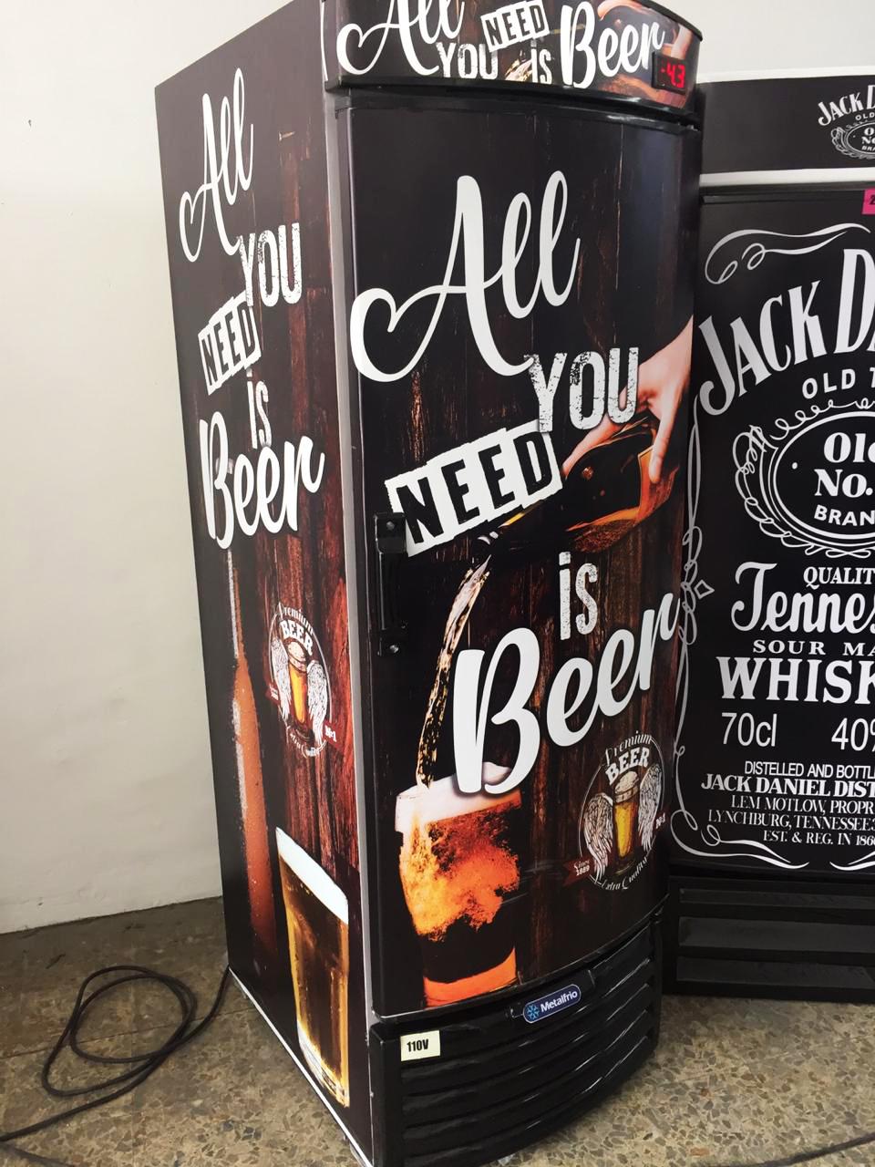 Metalfrio Personalização Beer ( Reformado ) VN50