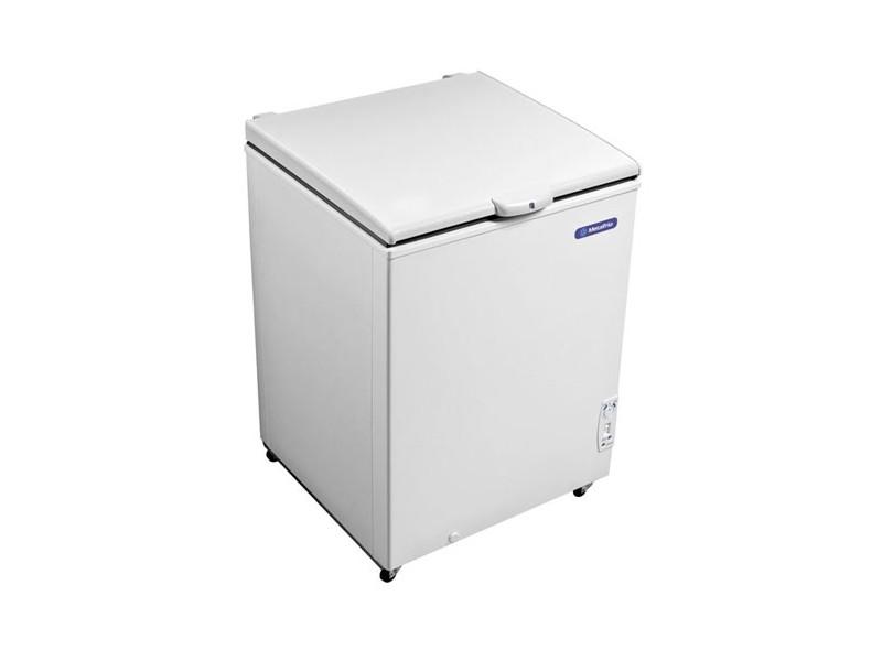 Freezer e Refrigerador Horizontal (Dupla Ação) 1 tampa 166 litros DA170 Metalfrio