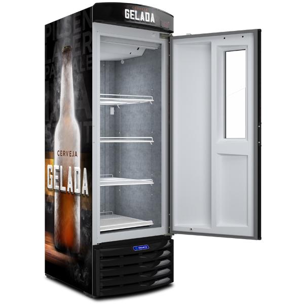 Cervejeira com Visor Expositor – 497 Litros - geladeirasecervejeiras.com.br