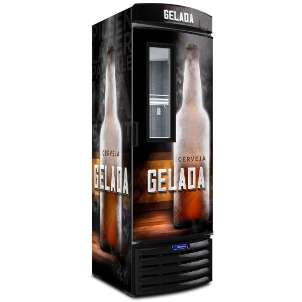 Cervejeira com Visor Expositor – 387 Litros - geladeirasecervejeiras.com.br