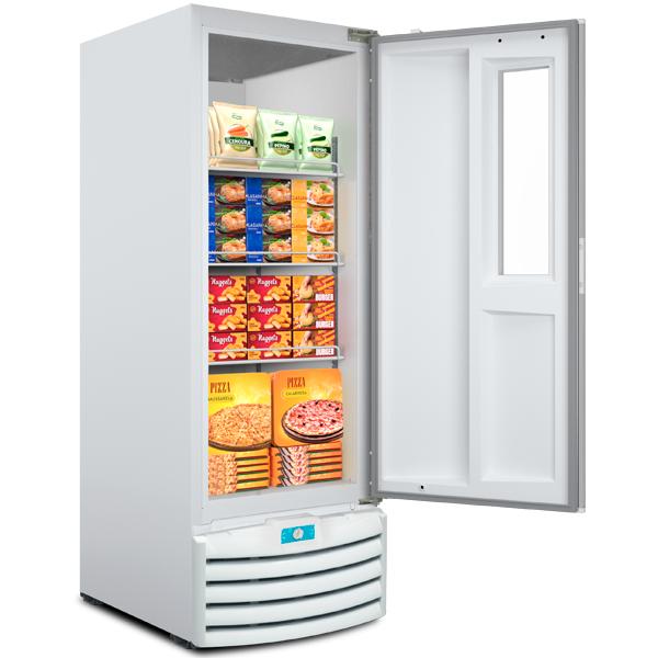 Conservador e Freezer Vertical (Dupla Ação) – Porta com Visor – 539 Litros - geladeirasecervejeiras.com.br