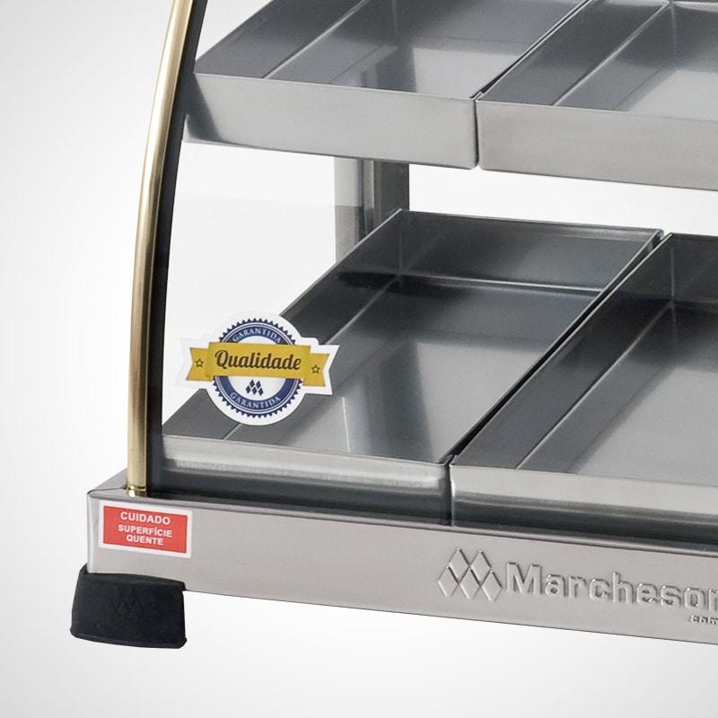 Estufa Curva 7 Bandejas Linha Ouro - geladeirasecervejeiras.com.br