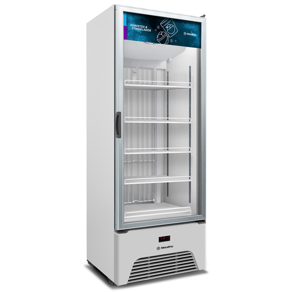 Freezer congelados Optima – Expositor Vertical Metalfrio  572 litros VF50