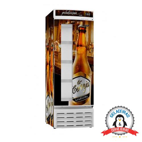 Cervejeira Freezer expositor 561 Litros CV520R – Esmaltec