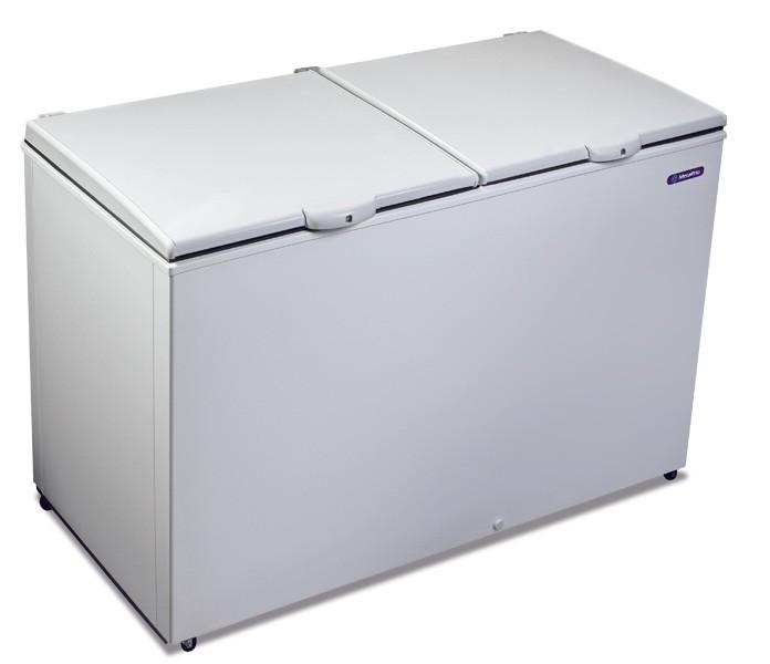 Freezer e Refrigerador Horizontal (Dupla Ação) 2 tampas 419 litros DA420 Metalfrio