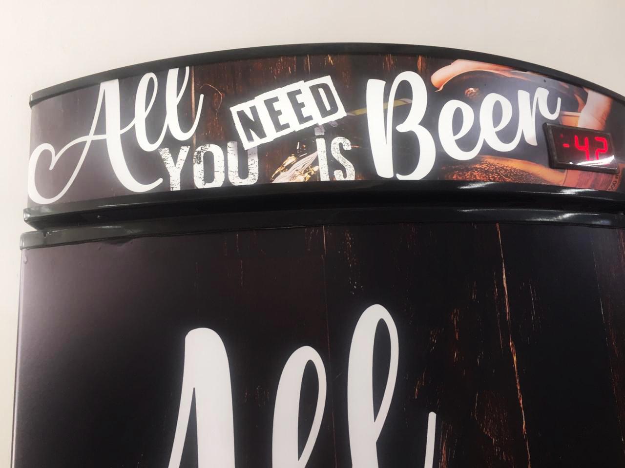 Metalfrio Personalização Beer ( Reformado ) VN50 - geladeirasecervejeiras.com.br