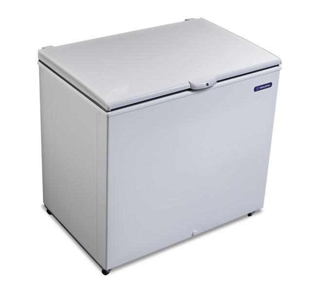 Freezer e Refrigerador Horizontal (Dupla Ação) 1 tampa 293 litros DA302 Metalfrio