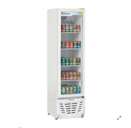 Refrigerador expositor Gelopar Turmalina Gptu230BR - geladeirasecervejeiras.com.br