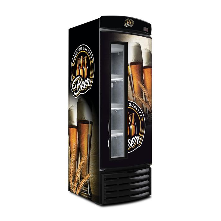 Cervejeira Metalfrio vidrinho 572 Litros Recondicionada FR572CV