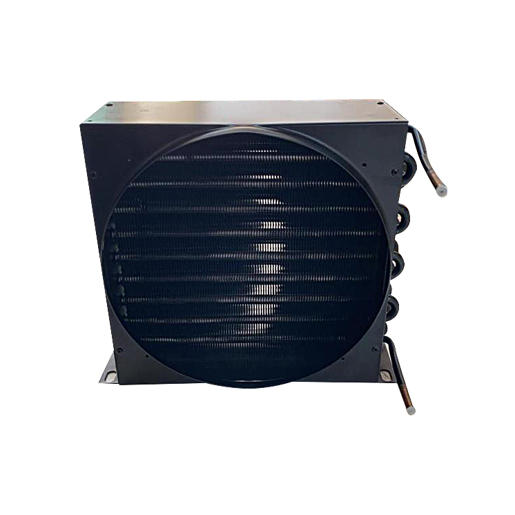 Condensador 1/3 HP c/ coifa de cobre pintura preta