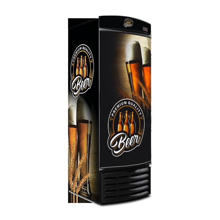 Cervejeira Metalfrio 572 Litros Recondicionada porta cega FR572PC